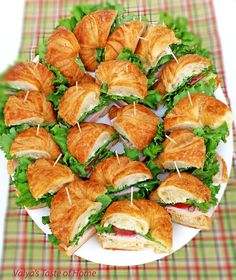 This Turkey Croissan'wich Appetizer Recipe is very well loved in our family and its so easy to make. Perfect way to add vegetables to picky children's diets. They are not only attractive but taste great and healthier than most after school quick snacks.