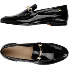 Tommy Hilfiger Loafer (3.974.075 VND) ❤ liked on Polyvore featuring shoes, loafers, black, leather loafers, leather shoes, round toe loafers, leather loafer shoes and black leather loafers