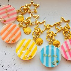 Uv Resin, Resin Art, Diy Resin Crafts, Resin Charms, Leather Keychain, Handmade Accessories, Resin Jewelry, Best Gifts, Clay
