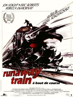 runaway train affiche | Affiche de Runaway Train - Cinéma Passion