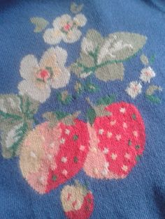 Detail from CK cardigan