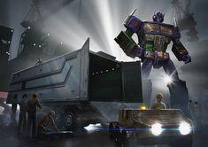 "Transformers Masterpiece Convoy (Optimus Prime) ""Mode EVA"""