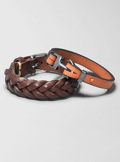 725264c9f7a  Fossil Mens Leather Bracelets Leather Bracelets