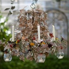 Pressed Metal Flower Chandelier in Gift Guide Heirloom Gifts at Terrain