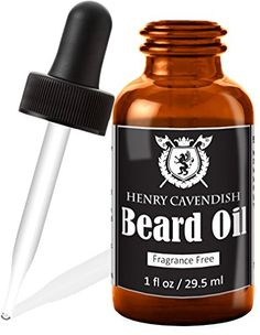 Henry Cavendish Beard Oil and Leave In Conditioner With Organic Jojo Sunflower Shea and Argon Oils Fragrance Free 1 Ounce * Read more  at the image link.Note:It is affiliate link to Amazon. #photooftheday