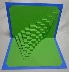 DIY Template Torsion 3 / Spread 40 Kirigami Pop-up by Ullagami