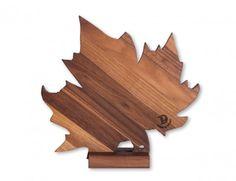tagliere legno Foglia di vite