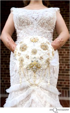 wedding hena, broach bouquet jenQphotography ::Grand Rapids Michigan Wedding and Lifestyle Photographer::: CANDACE AND MATT::JUST MARRIED!! { Grand Rapids Michigan Wedding Photographer }