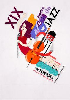 "Propuesta para el Cartel de ""La XIX mostra de Jazz de Tortosa ""..."