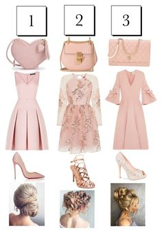 """👛💋1 2 3, Formal👛💋"" by jojoberryperry ❤ liked on Polyvore featuring Roksanda, BCBGMAXAZRIA, Chi Chi, Christian Louboutin, Lauren Lorraine, Madden Girl, Chloé and Chanel"