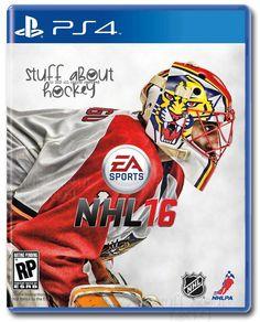 EA Sports NHL 16 Cover Art Florida Panthers Goalie Roberto Luongo  stuffAboutHockey.com Hockey Goalie ef108545a