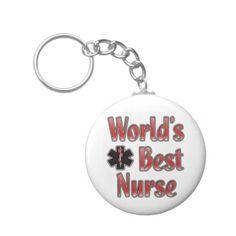 Gift for nurses - World's Best Nurse Key Chains