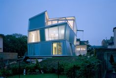 Maison Go Architects: Périphériques architectes (Marin-Trottin) Location: Thionville, France Construction year: 2006