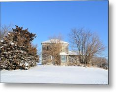 Hardin Abandonment Metal Print by Bonfire #Photography