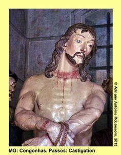 CONGONHAS (MG), Brazil.  Passos (Passion of Christ), by Aleijadinho