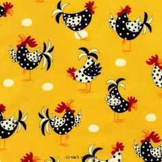 Image detail for -Chicken fabric | Makemefabulous