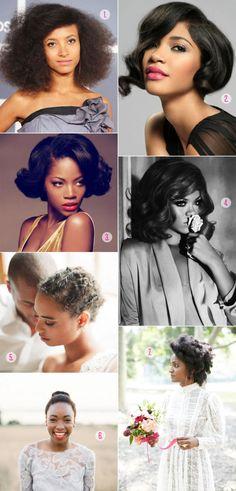 Black wedding hairstyles, with advice from Pantene celebrity stylist Kim Kimbal. AKA, Beyonce's stylist.