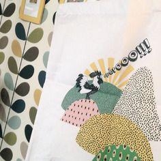 """Tote bag 100% coton blanc motif couleurs """"apérooo!"""" Cam LE MAC'"""