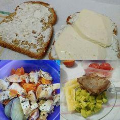 Café foi pão integral com queijo e ricota... Almoço: frango cenoura e batata doce... Jantar: carne de boi com abobrinha e mandioca cozida... #saude #saudeebemestar #dieta #lowcarb #fitness #diabetes #controle #glicemia #gordo #diabetic by binhocbjr