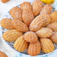 We're making Classic French Madeleines on the blog today! I've been so obsessed with these easy, tiny cakes recently.