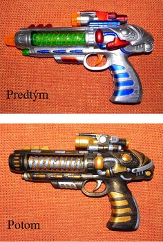 steampunk gun transformation