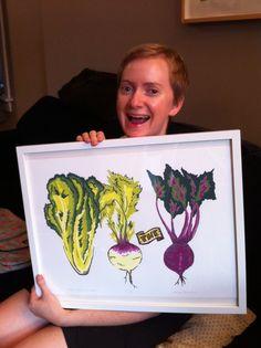 Kitchen Art - Lettuce turnip the Beet