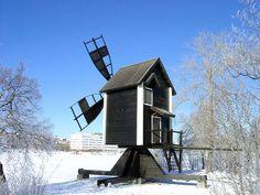 Windmill in Vasikkasaari-island near Kuopio harbor.