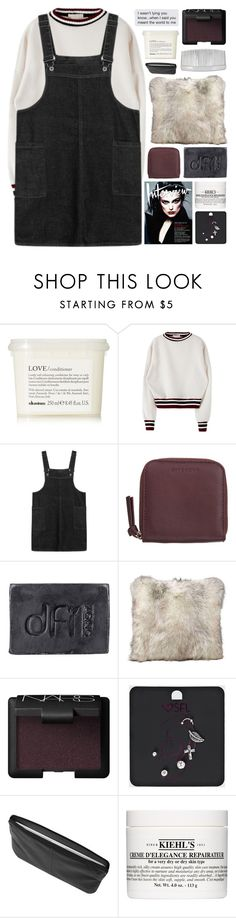 """""""Issues"""" by w-eakness ❤ liked on Polyvore featuring Davines, Givenchy, Dfi, NARS Cosmetics, Kiehl's and John Lewis"""