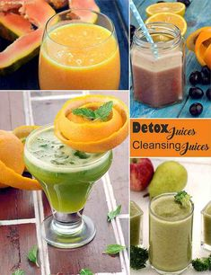 9 Detox Indian Juices, Cleansing Juices | TarlaDalal.com Healthy Juices, Healthy Fruits, Detox Juices, Healthy Snacks, Detox Drinks, Fruit Recipes, Indian Food Recipes, Vegetarian Recipes, Healthy Dinner For One