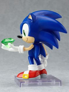 Amazon.com: Sonic the Hedgehog Nendoroid 4 Inch Poseable PVC Figure Sonic: Toys & Games