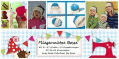 E Book Fliegermütze Bosse KU 37-61 Kinder + Erw. von DIY Lolletroll auf DaWanda.com
