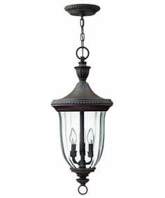 Hinkley Lighting 1242 Oxford 3 Light Outdoor Hanging Lantern