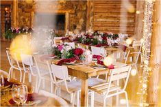 Wedding Decor with Masala Color - De Uijlenes Log Cabin Wedding, Farm Wedding, Wedding Tables, Wedding Decorations On A Budget, Ceremony Decorations, Table Decorations, Colorful Decor, Boho Decor, Modern Decor