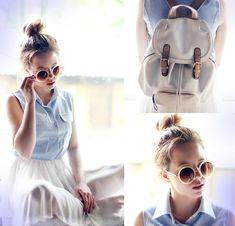 Sophiscat Dress, Parfois Backpack
