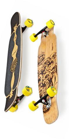 Loaded Bhangra Deck - All boards - Canada's Premier Online Longboard Skateboard Retailer