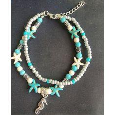 Ankle Jewelry, Ankle Bracelets, Beach Bracelets, Seashell Jewelry, Beach Jewelry, Diy Jewelry, Jewelry Ideas, Diy Beaded Bracelets, Necklaces
