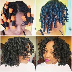Twist n Curl on natural hair