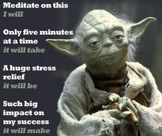 Take five minutes a couple times a day to meditate. Meditation is a top method of #StressRelief