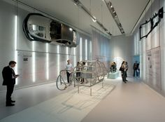 Architects Atelier Brückner of Stuttgart have designed the new BMW Museum, which opened in Munich last month.