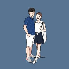 Watercolor art love couple 52 New Ideas Couple Sketch, Couple Drawings, Art Love Couple, Wallpaper Hp, Couple Illustration, Sad Art, Korean Art, Funny Babies, Cute Wallpapers