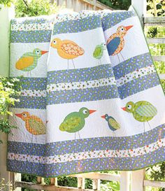 Hello Birdies Lap Quilt Kit--- I like this quilt. Can't get it right now, but hope to do so in the future..