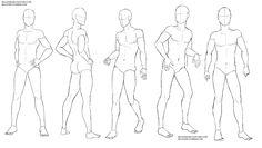 Resultado de imagem para drawing pose reference male