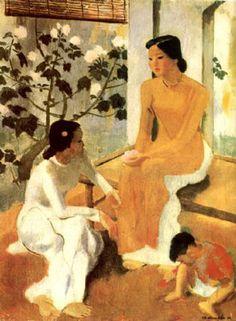 Картины вьетнамских художников