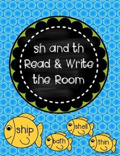 sh and th read and write the room/Word sort. Read and sort the fish (words) to the correct fishbowl (sh/th) Th Words, Word Sorts, Love Reading, Sorting, Students, Fishbowl, Classroom, Activities, Education