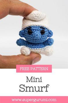 Crochet Keychain Pattern, Crochet Amigurumi Free Patterns, Crochet Animal Patterns, Crochet Dolls, Crochet Yarn, Crocheted Toys, Crochet Animals, Small Crochet Gifts, Cute Crochet