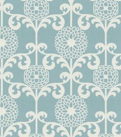Waverly Modern Essentials Fabric - Fun Floret / Spa: fabric for my duvet cover I'll be making