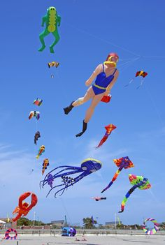 Kites of all designs