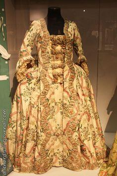 Robe à la française. Около 1765 г.