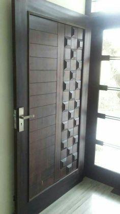 It's beautiful Desgin only indian price 19000 Wooden Front Door Design, Main Entrance Door Design, Door Gate Design, Room Door Design, Door Design Interior, Home Room Design, Interior Exterior, Entrance Decor, Modern Wooden Doors