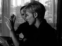Persona, Ingmar Bergman (1966). Bibi Andersson, Liv Ullman in photo